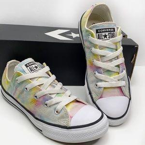 Converse All Star Rainbow Tie-Die sneaker girls 1